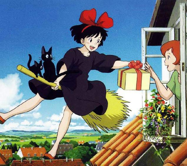 """""""Kiki: Entregas a domicilio"""" La historia se desenvuelve en un universo paralelo en donde las brujas"""