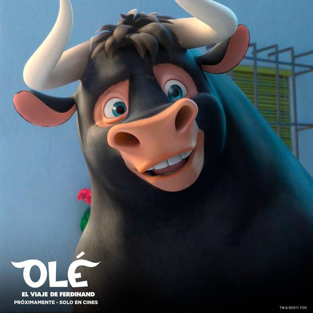"""Olé: la historia de ferdinand """"el más valiente es el que enfrenta a sus enemigos sin la necesidad de"""