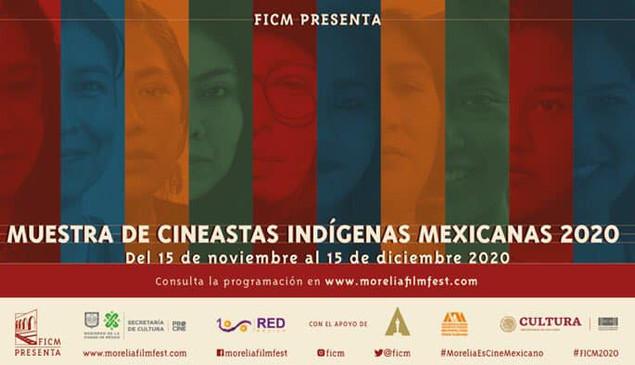 Recuerda que puedes escuchar los conversatorios de la Muestra de Cineastas Indígenas Mexicanas.