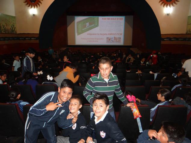 La importancia de incluir la cultura cinematógrafica en la formación de niños y jóvenes.