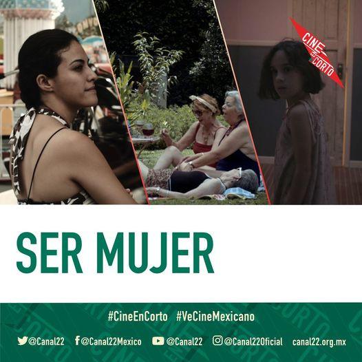 En #CineEnCorto, este miércoles a las 22:30 hrs por Canal 22 México, conducido por Daniela Michel.