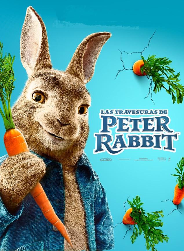 """Descubre a los conejitos más traviesos de la película """"Las Travesuras de Peter Rabbit"""""""