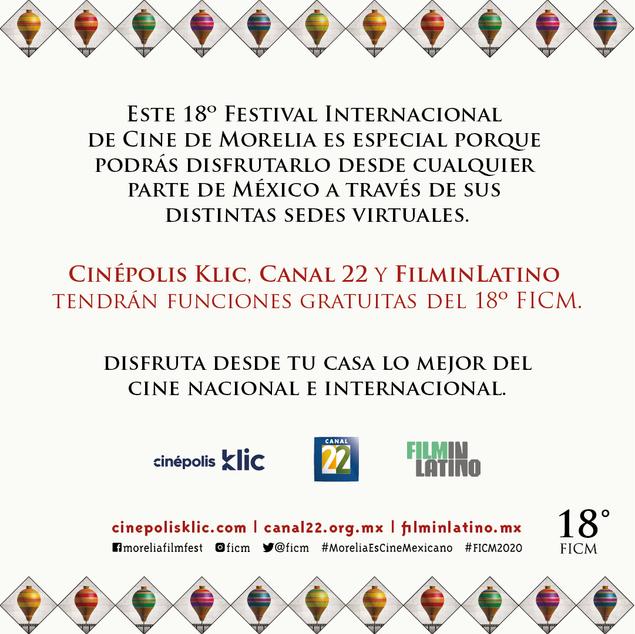 ¿Ya conoces las sedes virtuales del #FICM2020?