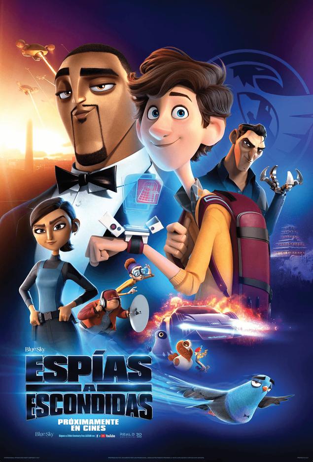 ESPÍAS A ESCONDIDAS es una comedia de animación que se desarrolla en el explosivo mundo del espionaj