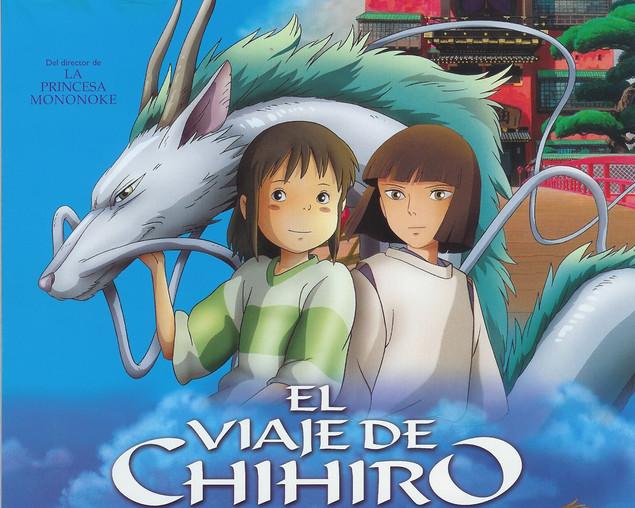 """""""El viaje de Chihiro"""" Considerada una de las mejores películas animadas de todos los tiemp"""