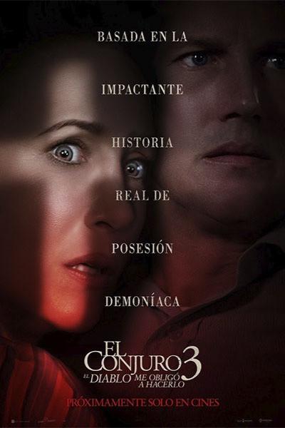 """""""El Conjuro 3: El Diablo Me Obligó A Hacerlo"""" revela una escalofriante historia de terror."""