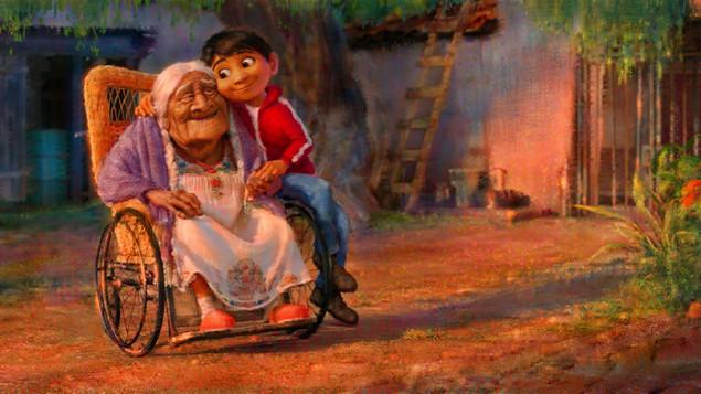 'Recuérdame. No llores, por favor. Te llevo en mi corazón y cerca me tendrás'.