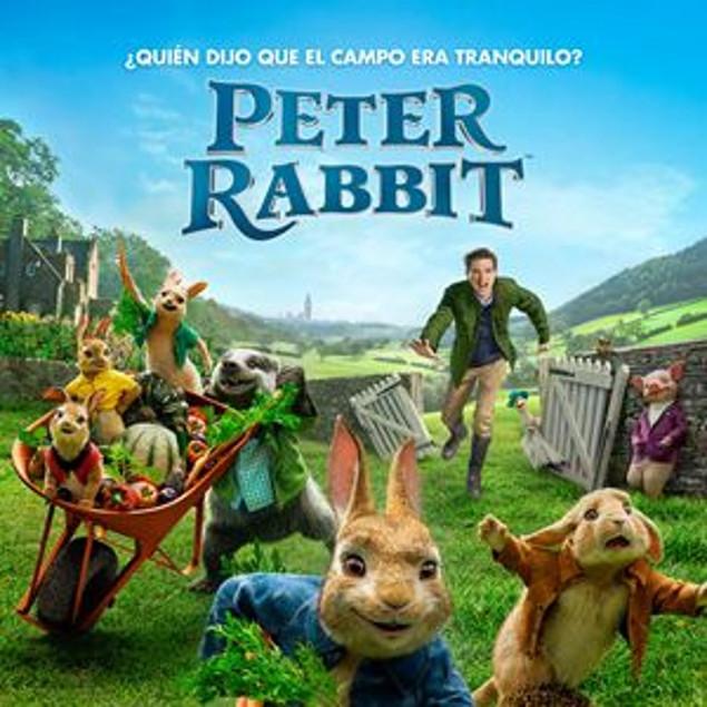 """""""Peter Rabbit"""" logra atraparnos con sus ingeniosas y trepidantes aventuras, pero también c"""