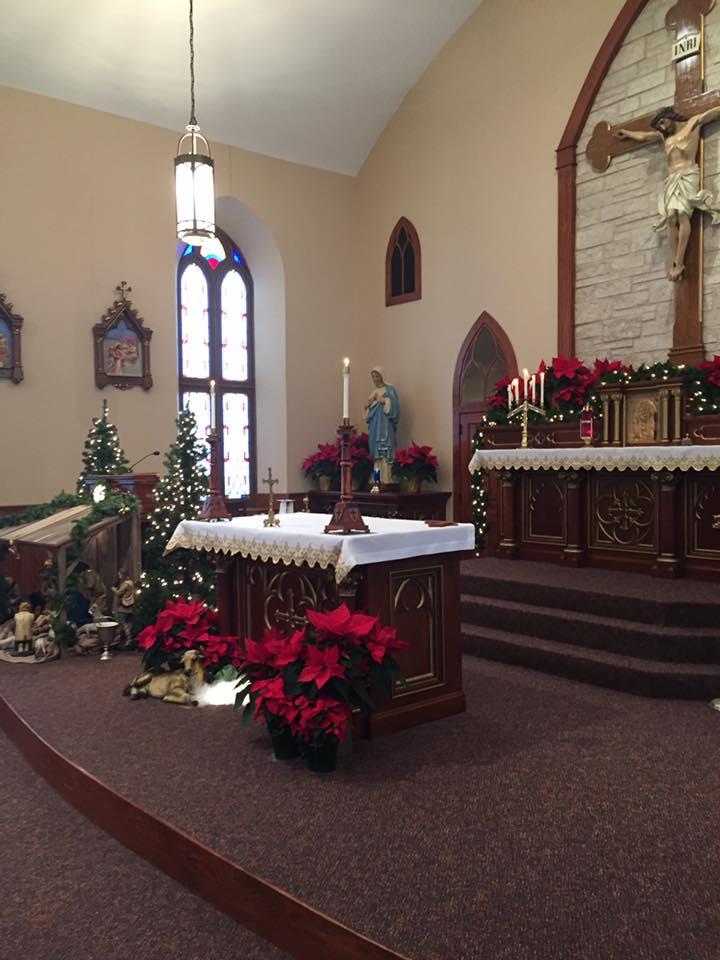 Church at Christmas 2019