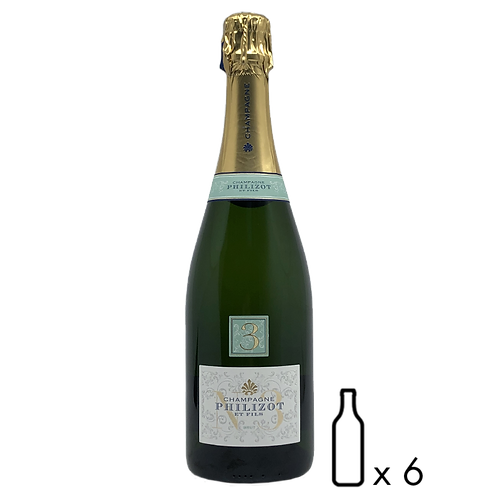 Champagne N°3, Brut Philizot & Fils