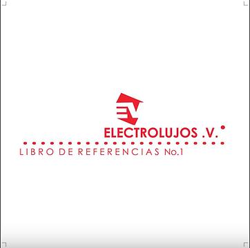 CATALOGO ELECTROLUJOS V