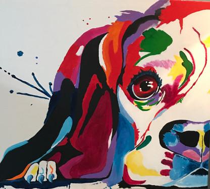 """Acrylic on canvas 24x30"""""""