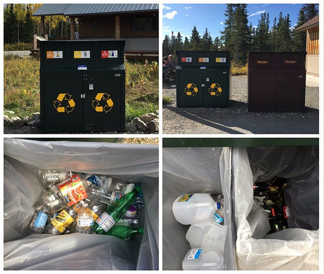 Denali National Park Recycles Right!