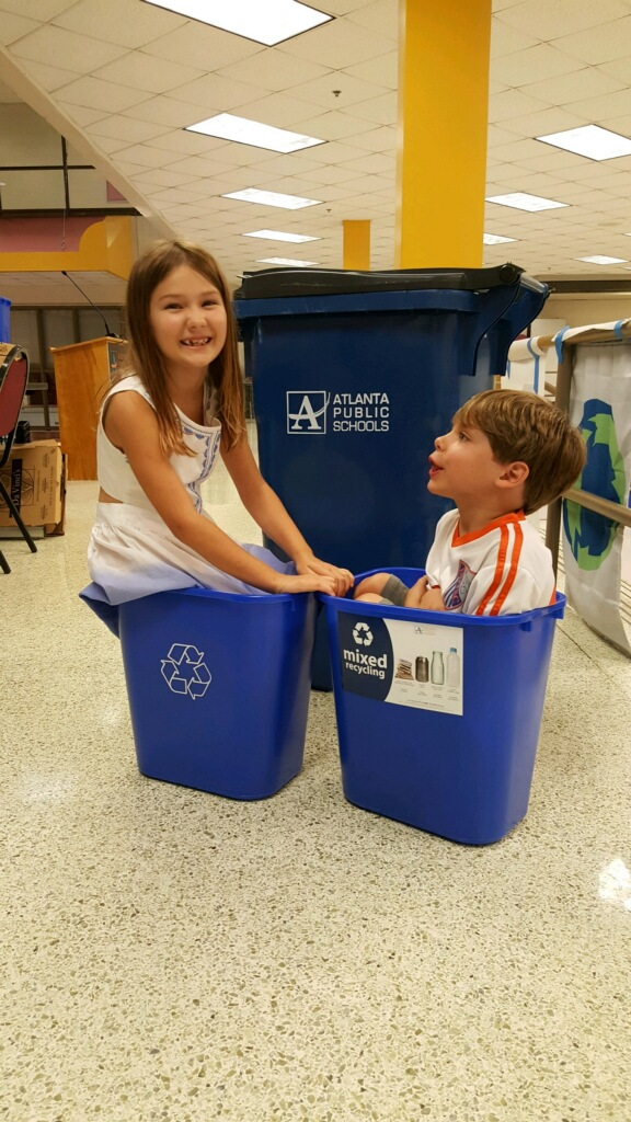 Students Learn How to Recycle Right!