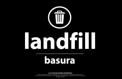 "Landfill - Label 5.5"" X 8.5"""
