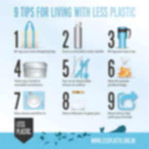 9 tips for living with less waste
