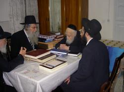 """With Rabbi Elyashiv ZT""""L"""