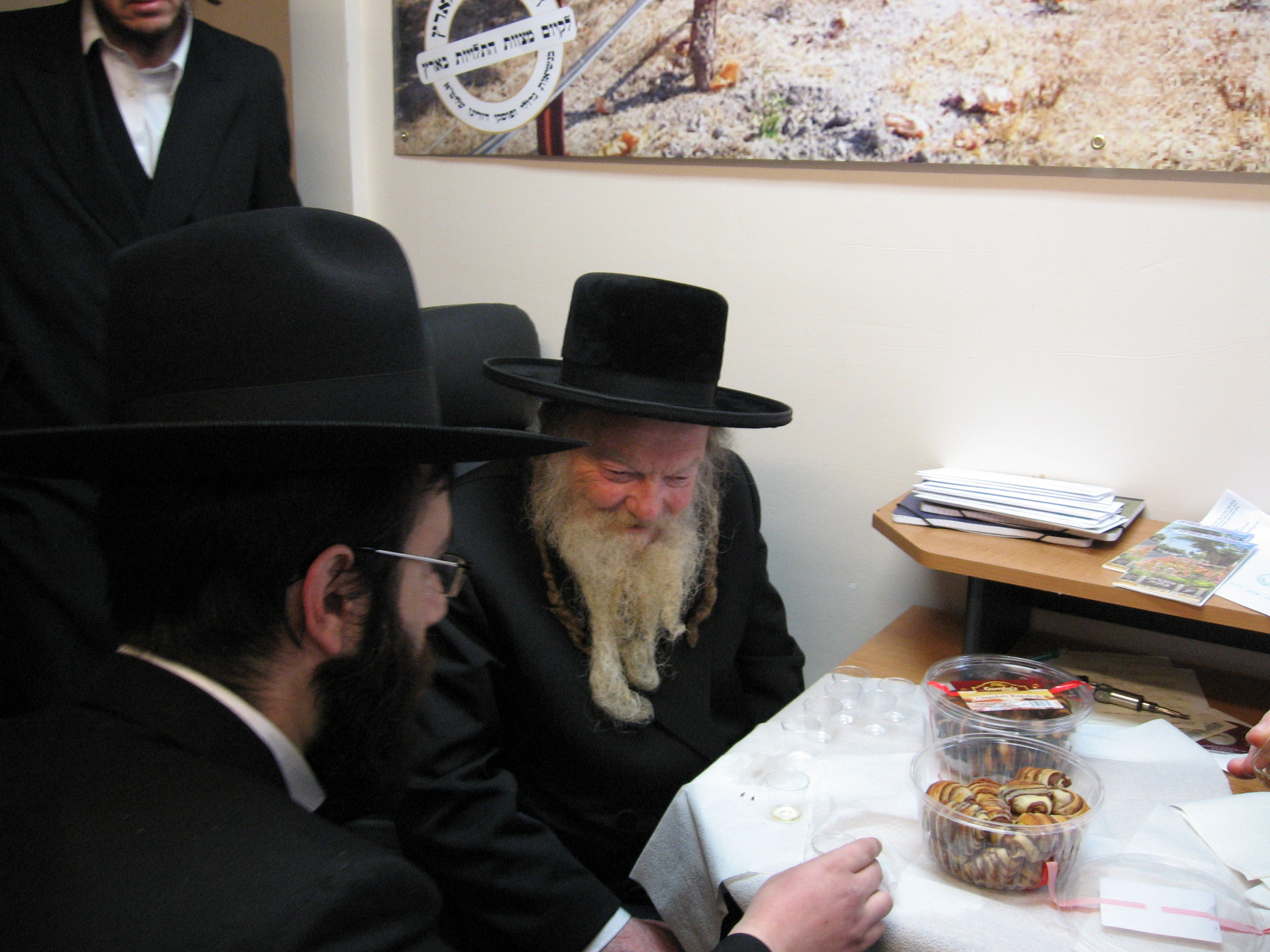 "With Admor of Lalov ZT""L"