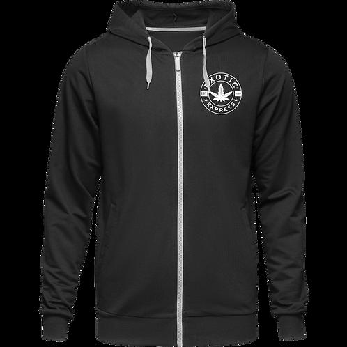 Exotic Express zip up hoodie