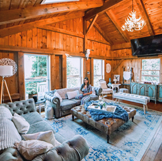 Boho Chic Mountain Lodge