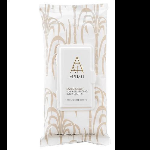 Liquid Gold, Alpha-H Liquid Gold Resurfacing Body Cloths