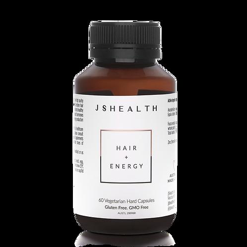 Hair + Energy Formula - 60 Capsules
