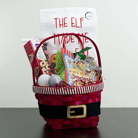 Christmas Gift Basket for the Baker