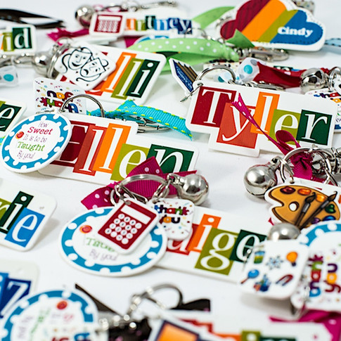 Colorful Keychains