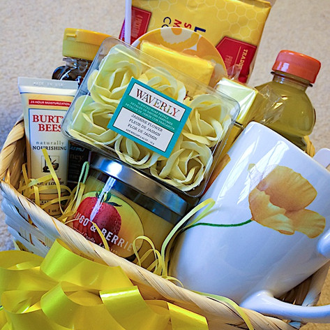 Cheer Up Gift Basket