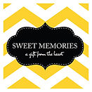 Sweet memories gift shop logo