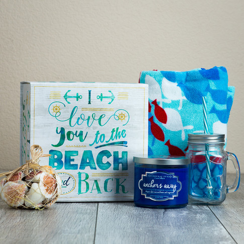 Gift Basket - I Love You to the Beach and Back