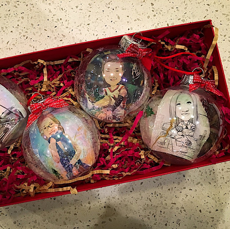 ​Personalized Christmas Ornaments