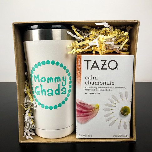 Personalized Tumbler & Tea Gift Set
