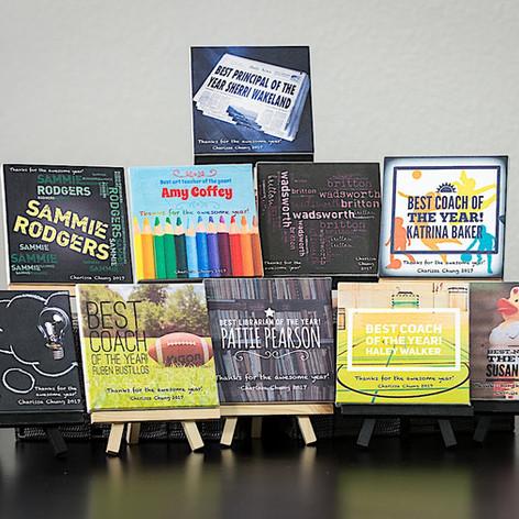 Teacher Appreciation Canvas Collection