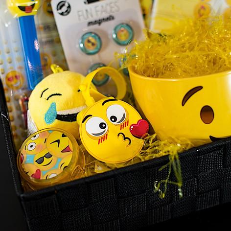 Emoji Gift Basket