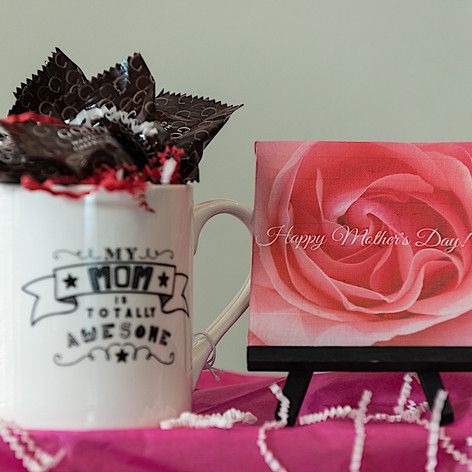 Mother's Day Mug with Canvas