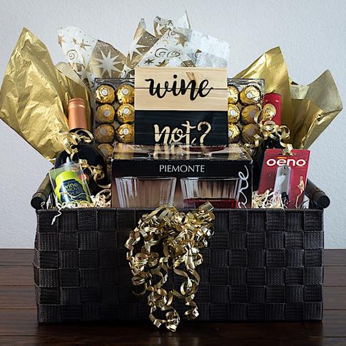 Wine Not Gift Basket