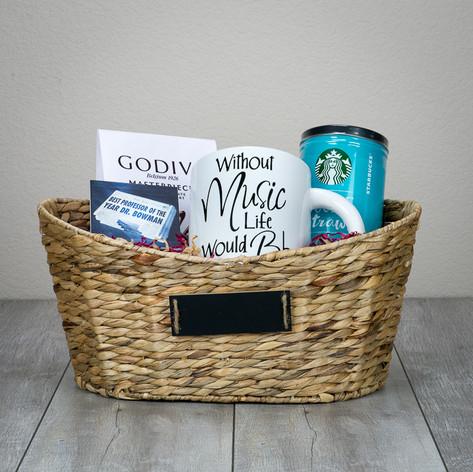Gift Basket - Music Teacher Appreciation