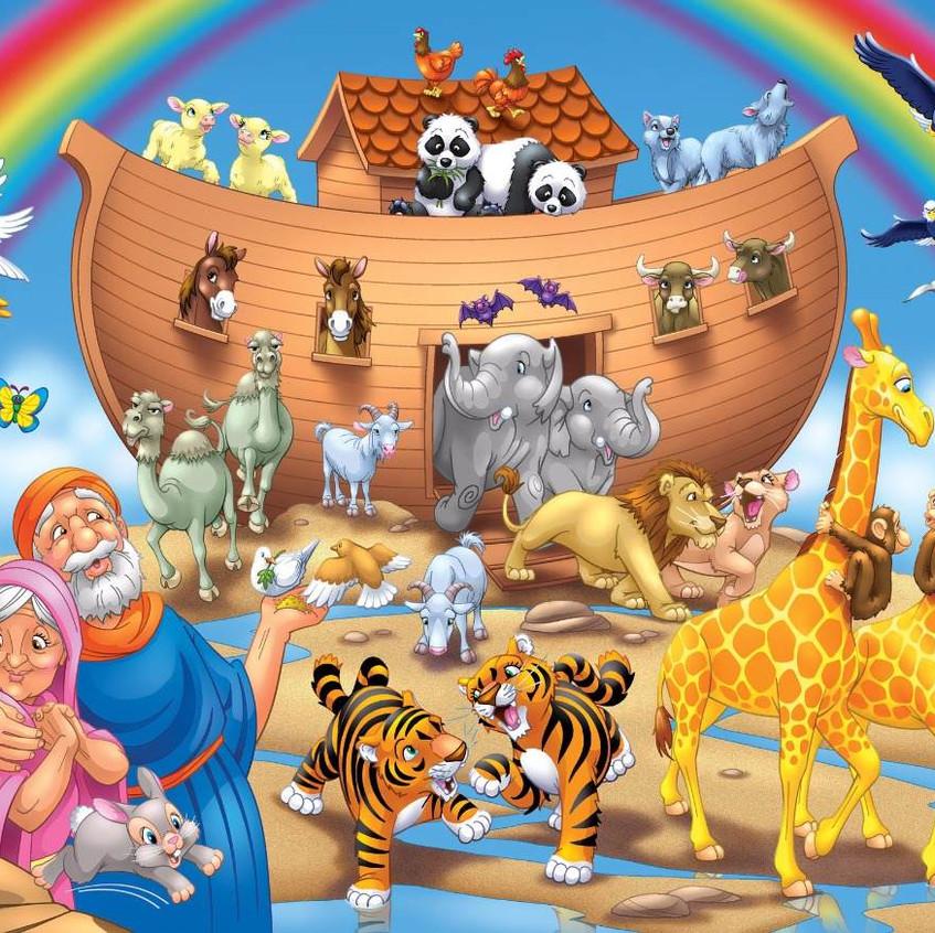 História-Bíblica-Infantil-A-Arca-de-Noé.
