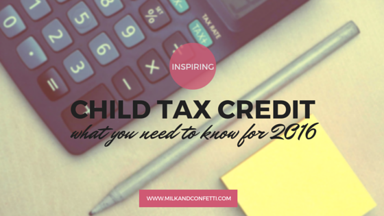 Child Tax Credit: what are the canadian child tax credit you can take advantage of for 2016?