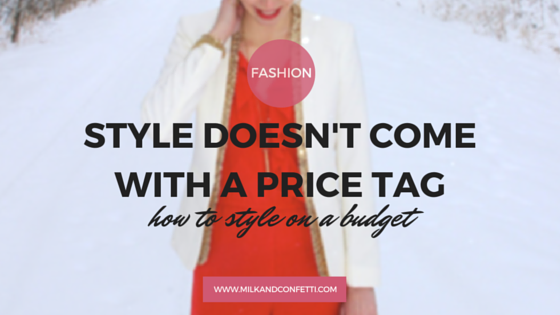 Style doesn't come with a price tag and you are able to pull off outfits without costing you hundred of dollars