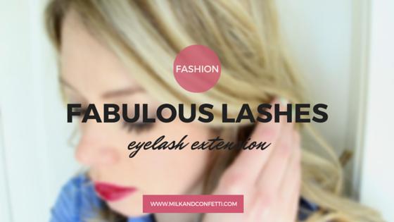fabulous lashes and a little bit about lash extension