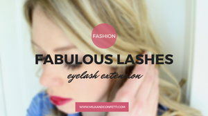 fabulous lashes and a little bit about lash extension