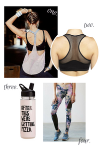 I have started a weekly exercise routine. With it, is searching for cute and functional workout clothes. You might not agree there is a need for fancy work out clothes since you will just sweat in it. However, it matters to me and it really doesn't hurt to look good prior to your workout, and during the workout when sweating like a running tap.