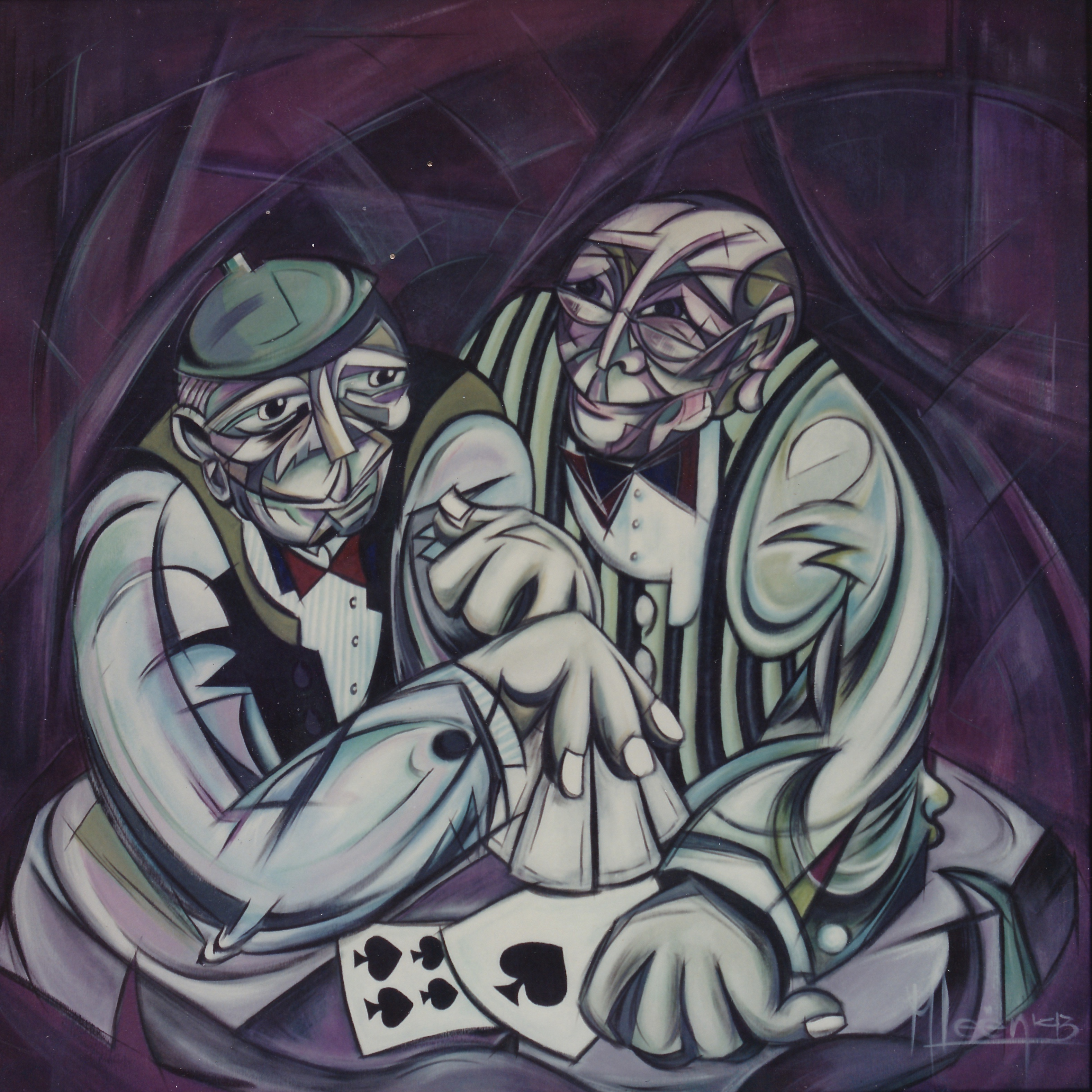 The Card Players 120*120