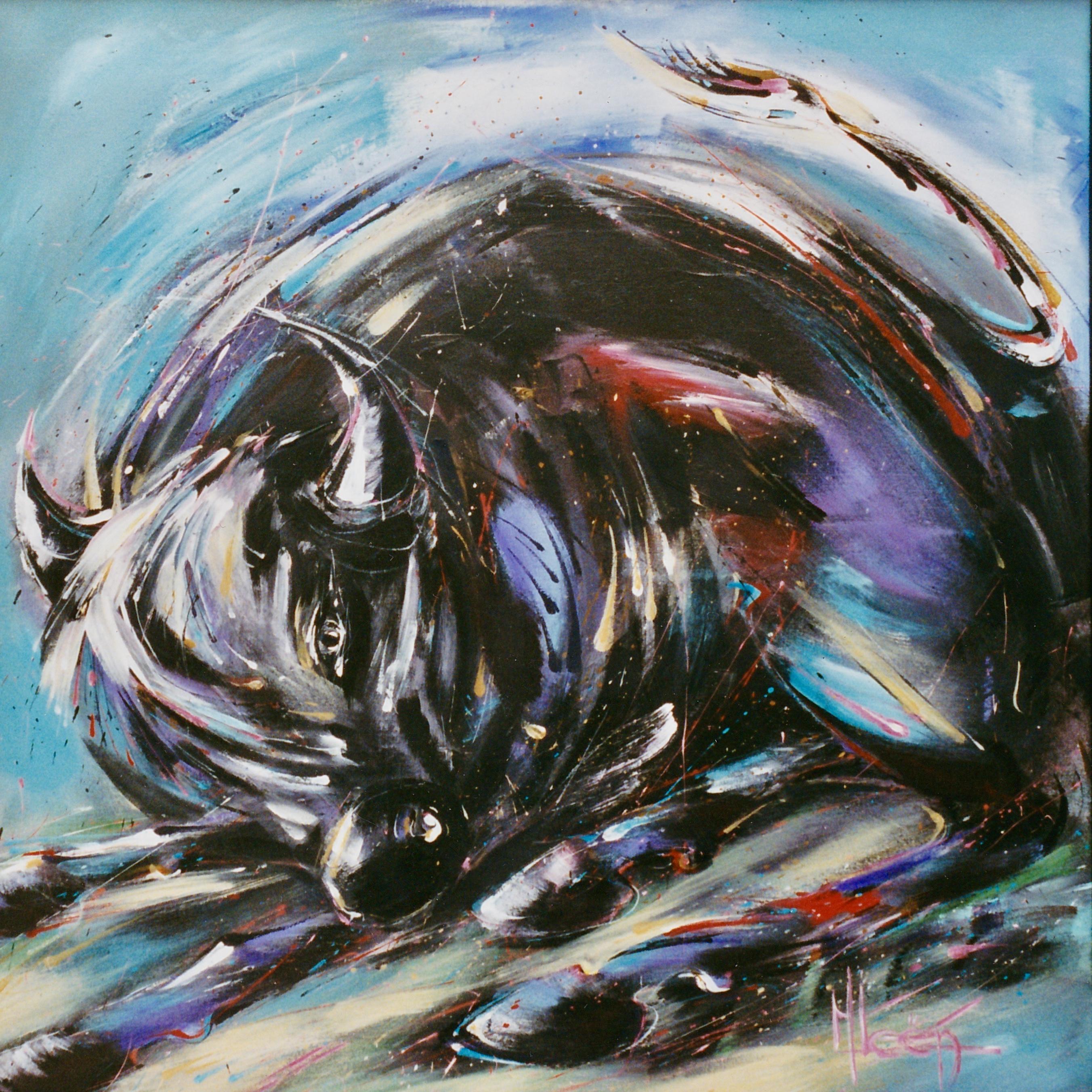 Roaring Bull 100*100