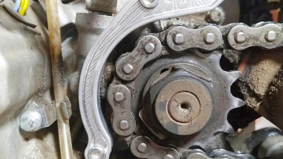 Защита ведущей звезды CNC для двигателя zs177mm