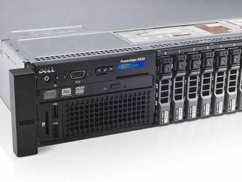 Dell Poweredge R820 2U Rackmount Server