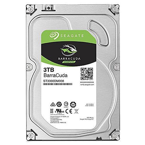 """ST3000DM008 3TB BarraCuda SATA 6Gb/s 64MB Cache 3.5"""" Internal Hard Drive"""