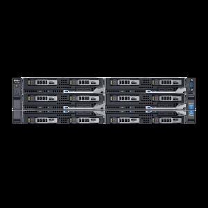 Dell PowerEdge FX2S With 4x FC630 2x E5-2640v4 256GB 2x16GB SD Bundle